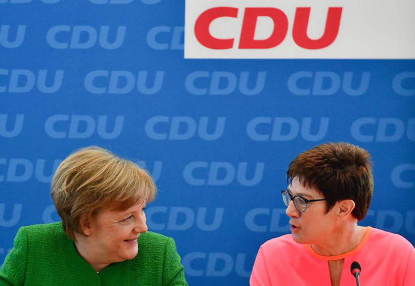 En Alemania, Angela Merkel trabaja ya en su sucesión | El Imparcial de Oaxaca