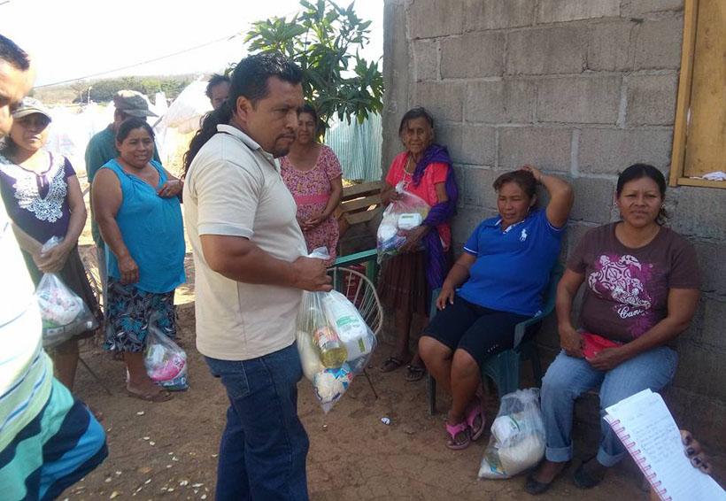 Migrantes apoyan a damnificados de Juchitán, Oaxaca | El Imparcial de Oaxaca