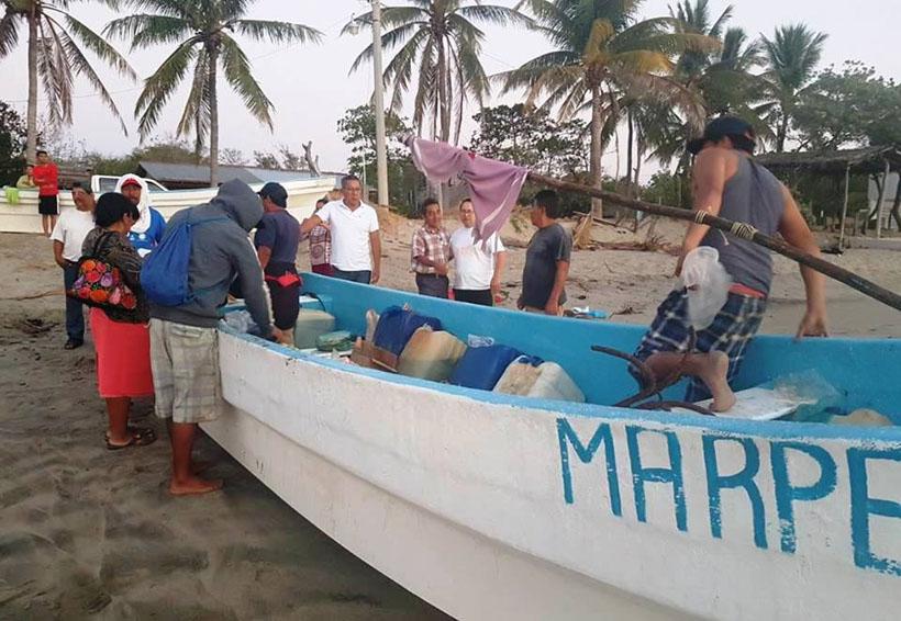 No pierden la esperanza  de volver a ver vivos a los pescadores del Morro Mazatán, Oaxaca