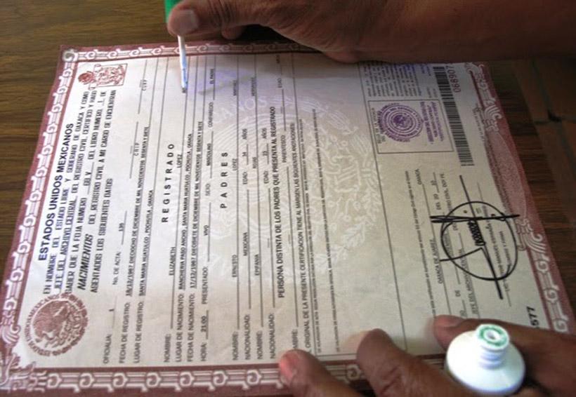 Exhiben más abusos en las oficialías del Registro Civil de Oaxaca | El Imparcial de Oaxaca