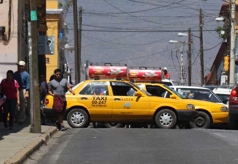 Otro día caótico  en Oaxaca