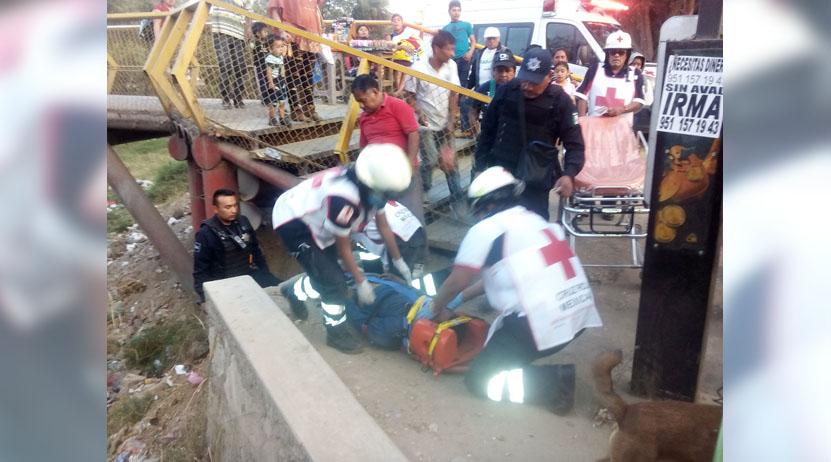 Asaltan, golepan y esconden a joven bajo un puente en el mercado de abastos de Oaxaca | El Imparcial de Oaxaca