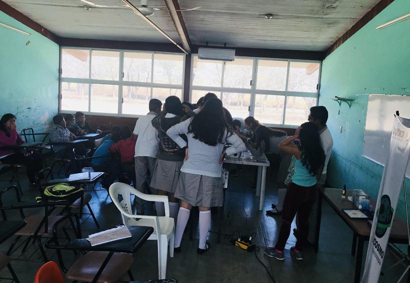 Payasos científicos  visitan comunidades del Istmo de Oaxaca