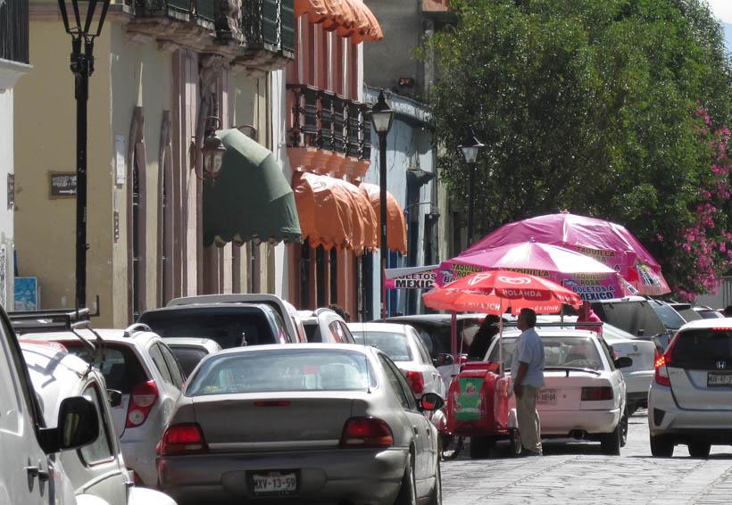 Peatones de Oaxaca en el olvido