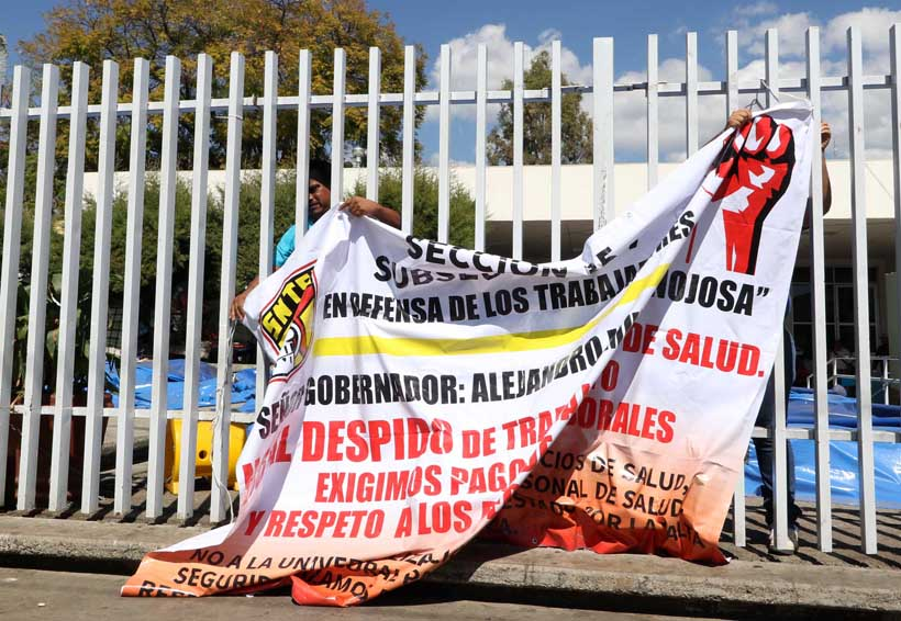 Pega conflicto al Hospital Civil de Oaxaca