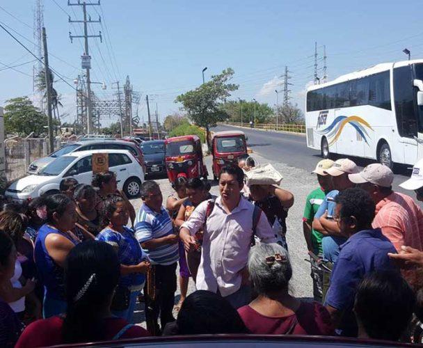 Piden a CFE condonación de pagos a damnificados de Juchitán, Oaxaca