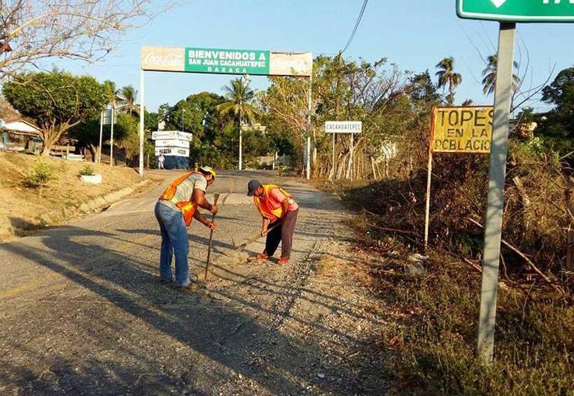 Rehabilitan tramo carretero Pinotepa Nacional-Tlaxiaco | El Imparcial de Oaxaca