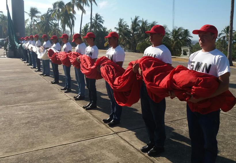 Ceremonia de bienvenida del Servicio Militar clase 1999 en Puerto Escondido, Oaxaca | El Imparcial de Oaxaca