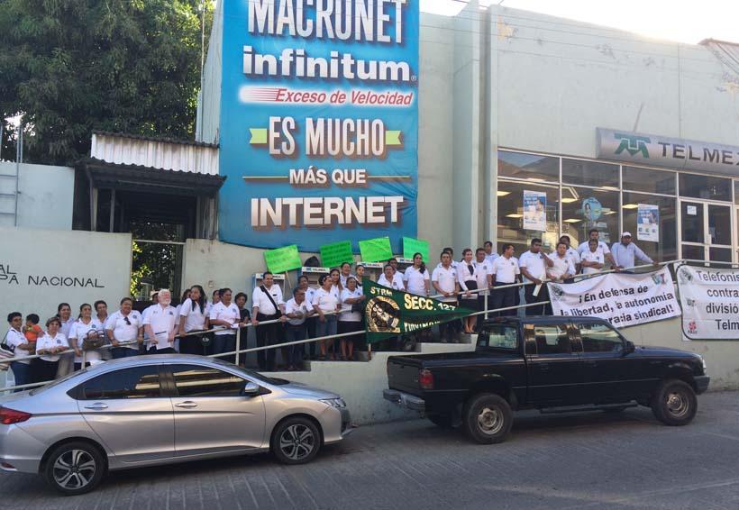 STRM protesta en Pinotepa Nacional, Oaxaca