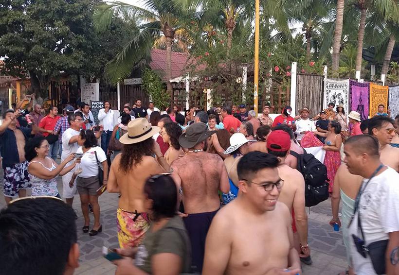 Se destaparon en Zipolite, Oaxaca