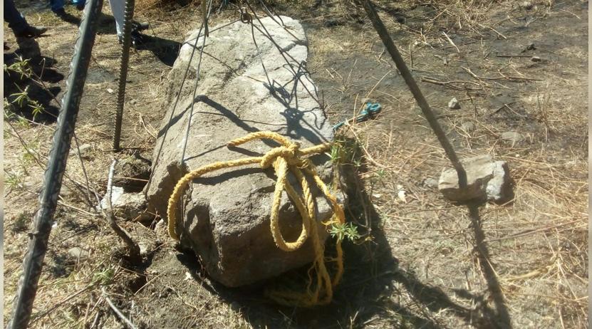 Capturan a ladrón de pieza arqueológica en una reserva de Dainzú, Tlacolula | El Imparcial de Oaxaca