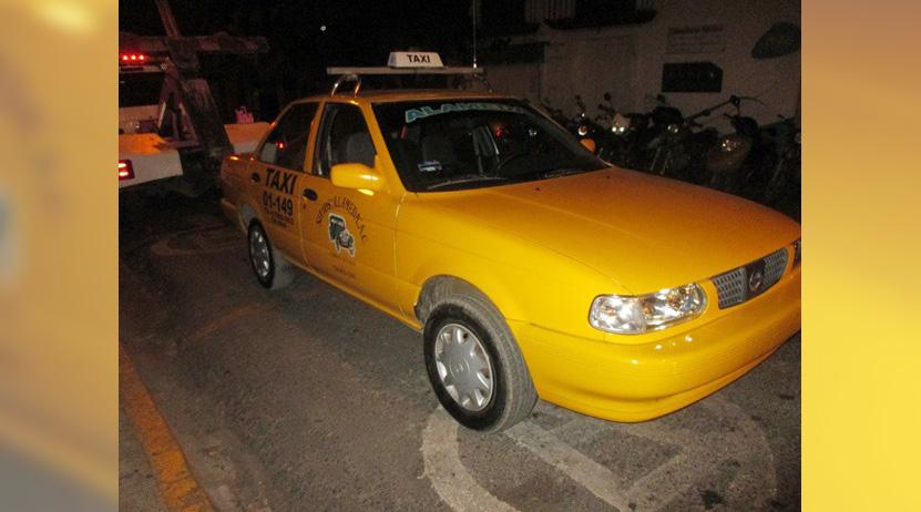 En horas, roban taxis con violencia en Oaxaca | El Imparcial de Oaxaca