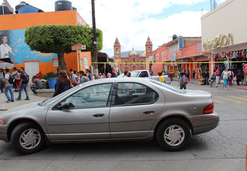 """Serio """"dolor de cabeza"""" estacionarse en Oaxaca"""
