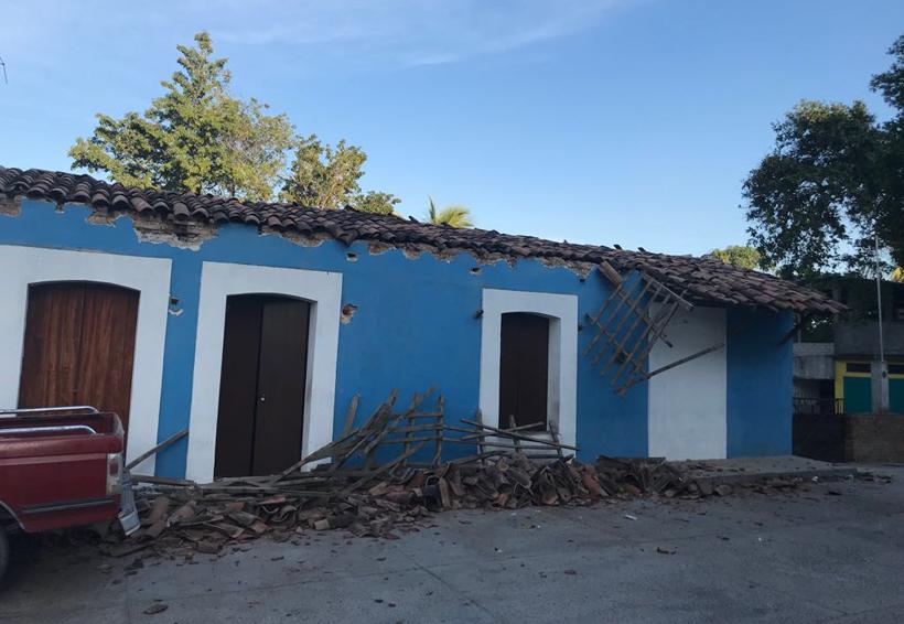 Sacude sismo de 7.2 grados a Oaxaca