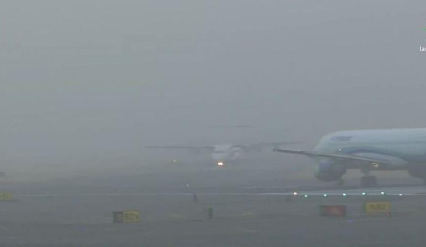 Banco de niebla afectó operaciones en el aeropuerto CDMX | El Imparcial de Oaxaca