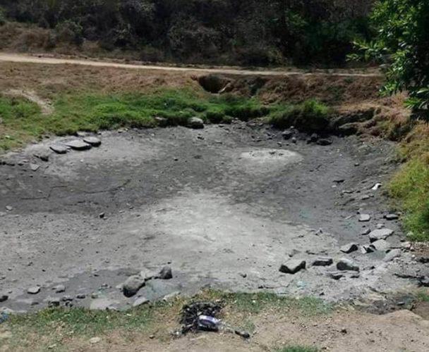 Aguas termales desaparecen a causa del temblor