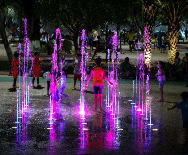 Construirán Fuente Danzante en parque Juárez de Tuxtepec, Oaxaca