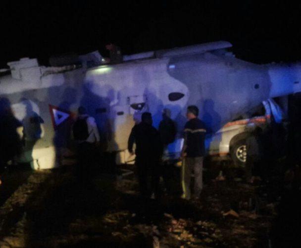 Se desploma helicóptero de la Sedena donde viajaban Alejandro Murat y Navarrete Prida en Jamiltepec