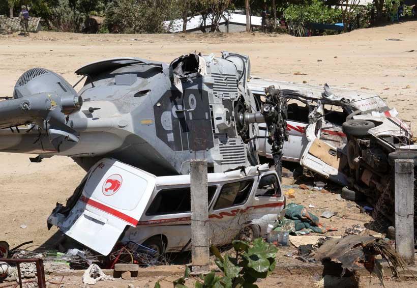 Demandan investigar a fondo accidente de nave en Jamiltepec, Oaxaca | El Imparcial de Oaxaca