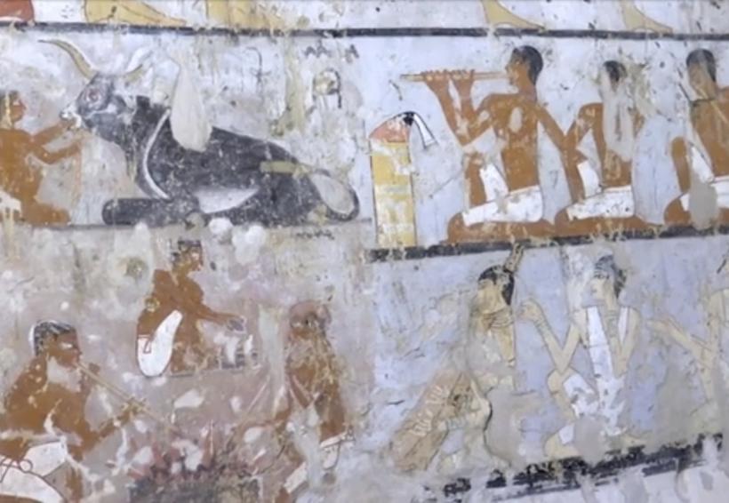 Descubren tumba de más de 4 mil años a las afueras de El Cairo   El Imparcial de Oaxaca