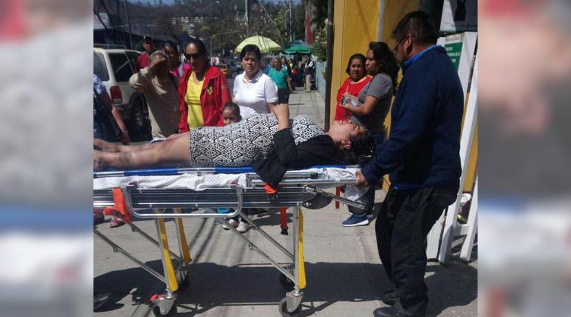 Arrolla ambulancia a transeúnte que se dirigía al IMSS en Oaxaca | El Imparcial de Oaxaca