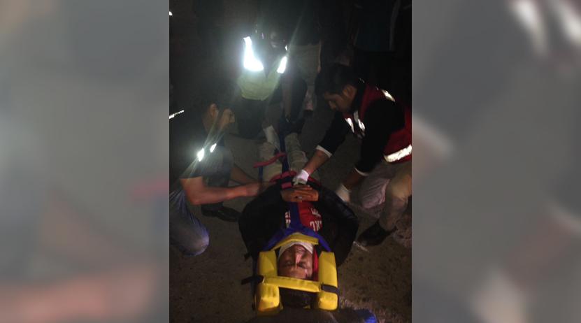 Derrapa motociclista en Xoxocotlán, Oaxaca | El Imparcial de Oaxaca
