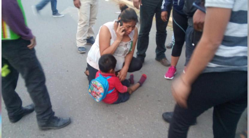 Arrollan a niño en el crucero de Plaza Bella, Oaxaca | El Imparcial de Oaxaca