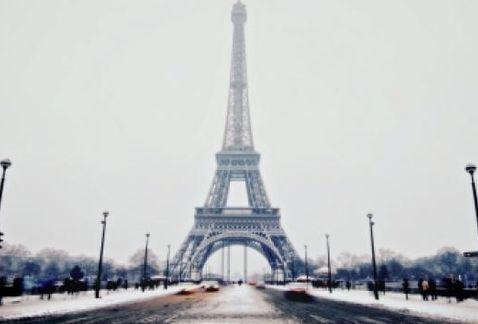 París está en alerta por nevada | El Imparcial de Oaxaca