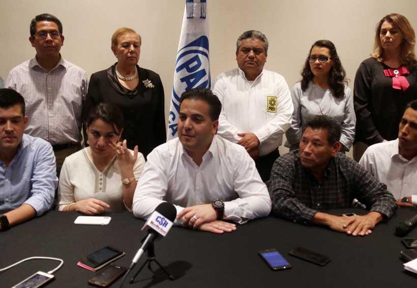 Entre pugnas internas, panistas de Oaxaca reciben a Damián Zepeda | El Imparcial de Oaxaca