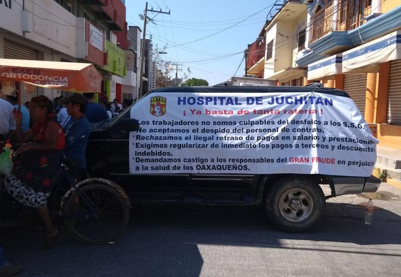 Trabajadores de Salud  toman oficinas y bancos  en el Istmo de Oaxaca | El Imparcial de Oaxaca
