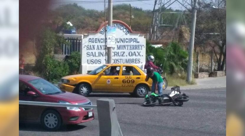 Atropella a motociclista en Salina Cruz, Oaxaca | El Imparcial de Oaxaca
