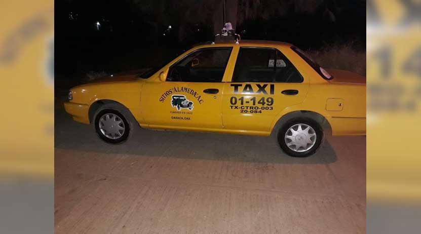 Recuperan tres taxis con reporte de robo en Oaxaca | El Imparcial de Oaxaca