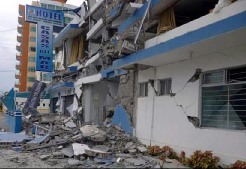 Daños materiales y crisis nerviosas tras sismo en Pinotepa Nacional, Oaxaca