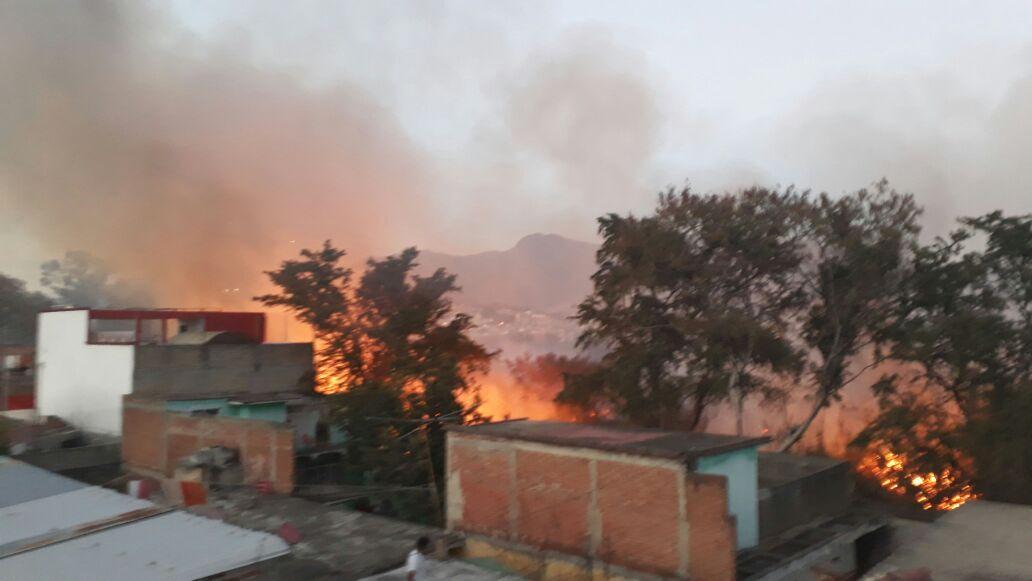 Incendio en San Juan Chapultepec, Oaxaca | El Imparcial de Oaxaca