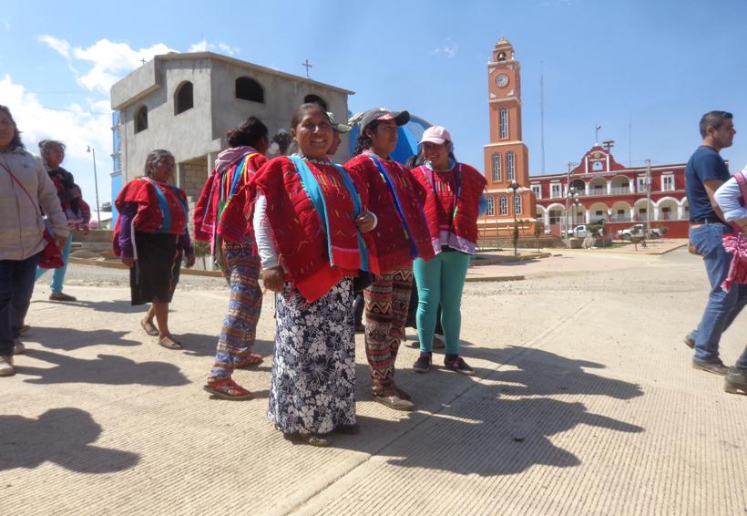 Mujeres en el desarrollo  de sus comunidades en Oaxaca