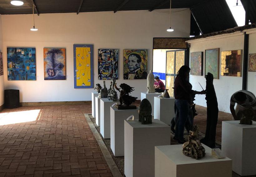 Inauguran galería parroquial en la Villa de Etla