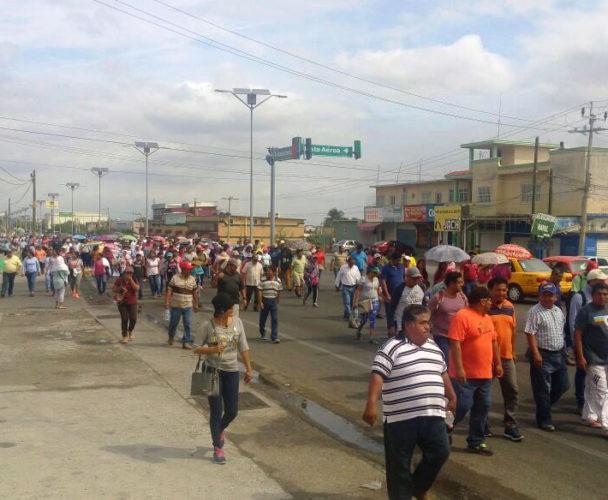 S-22 se pronuncia contra privatización de PEMEX en Oaxaca