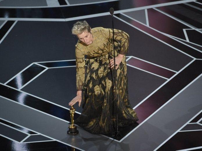 Un video muestra al ladrón del Oscar de Frances McDormand | El Imparcial de Oaxaca