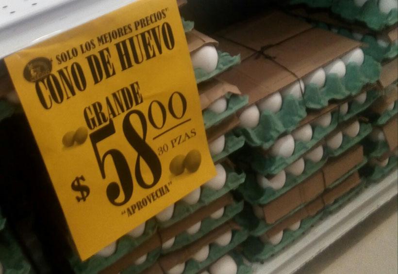 Alza del huevo afecta a  los que menos tienen en Oaxaca