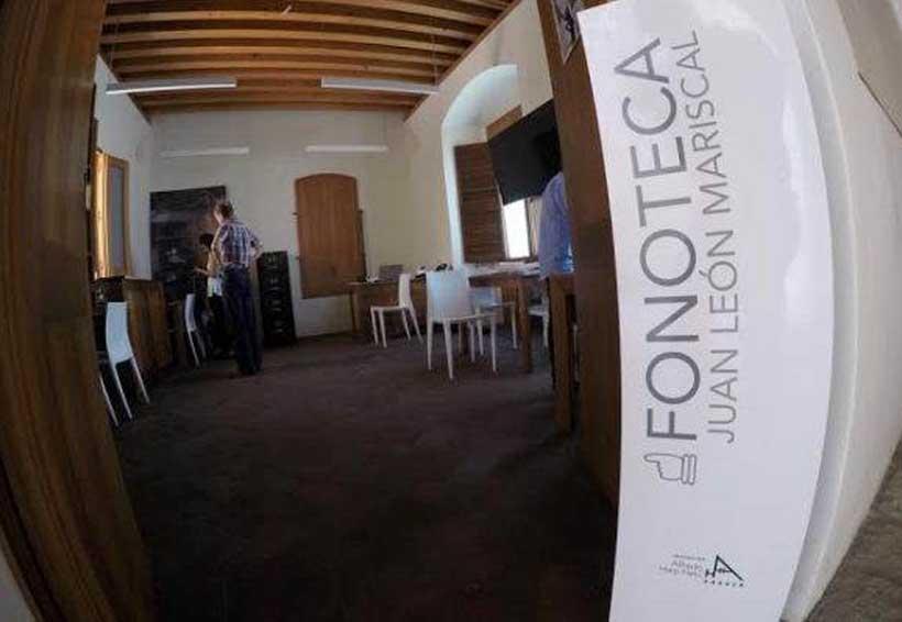 De festejo, la Fonoteca  Juan León Mariscal | El Imparcial de Oaxaca