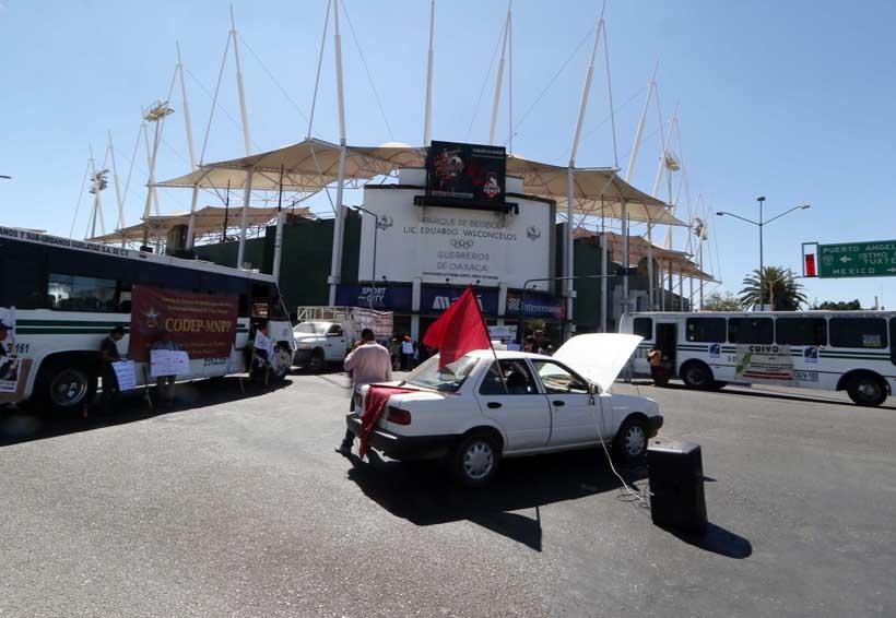 Un lunes caótico para la capital oaxaqueña | El Imparcial de Oaxaca