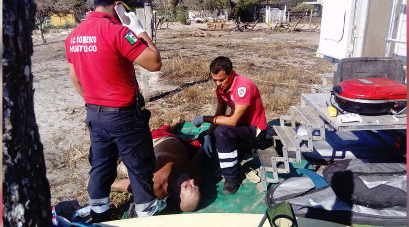 Surfista muere por paro cardíaco tras salir del agua en playa de San Miguel del Puerto, Oaxaca | El Imparcial de Oaxaca