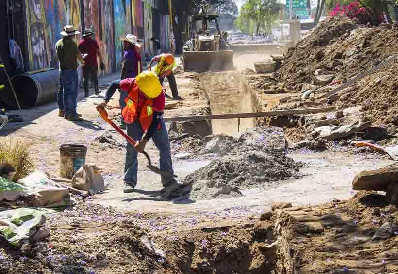 En abril concluirían subcolectores sanitarios en Oaxaca