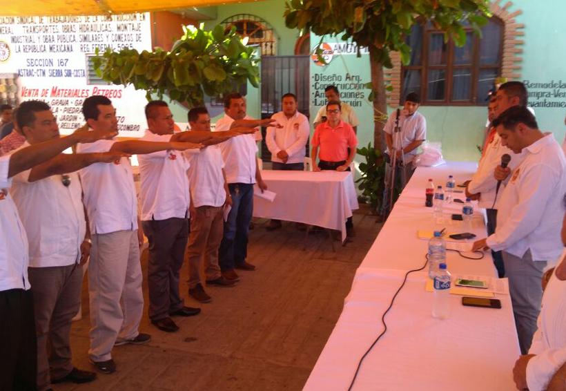 Entregan toma de nota a  25 integrantes de la CTM en la Costa de Oaxaca | El Imparcial de Oaxaca