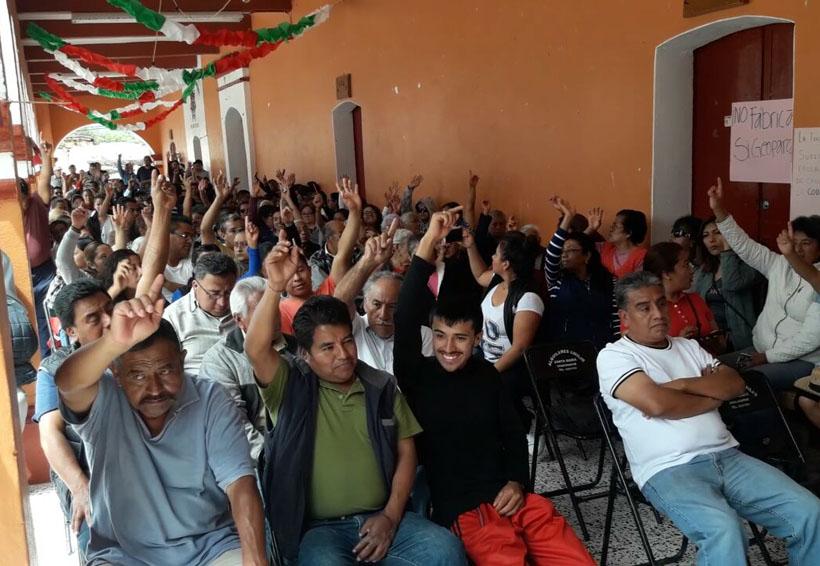 Exigirá San Juan Yucuita  revocación de mandato