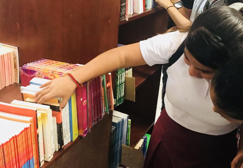 Fundación Porrúa inaugura  biblioteca en Juchitán, Oaxaca
