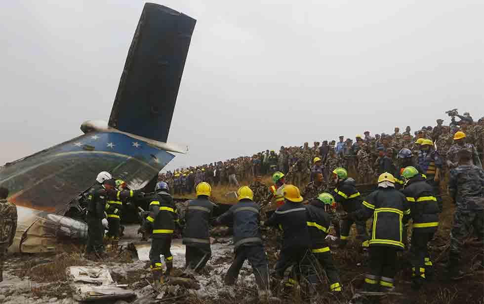 Choque en Nepal fue por confusión sobre ruta del avión. Noticias en tiempo real