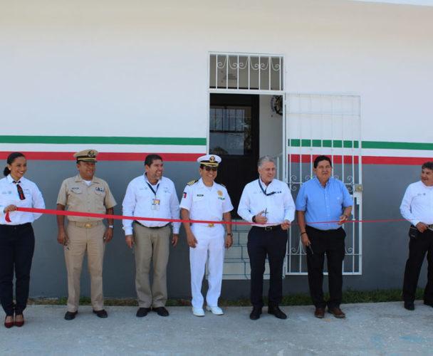 Inauguran oficina de servicios de  Marina Mercante en Salina Cruz, Oaxaca