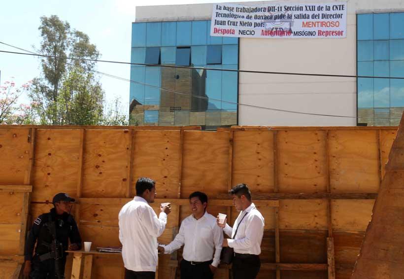 Chocan el director del ITO y la Sección 22 de Oaxaca | El Imparcial de Oaxaca
