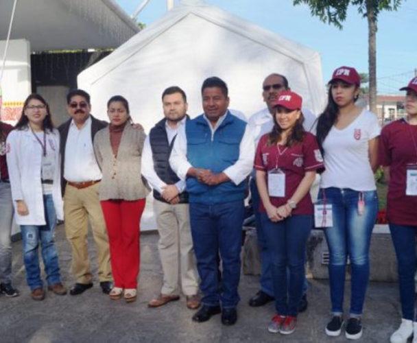 Llegan brigadas de  salud del Politécnico a Tuxtepec, Oaxaca